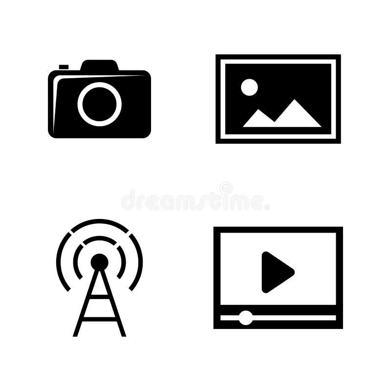 ανασκόπησης φωτογραφικών μηχανών λευκό μονοπατιών ψαλιδίσματος dslr απομονωμένο Απλά σχετικά διανυσματικά εικονίδια ελεύθερη απεικόνιση δικαιώματος