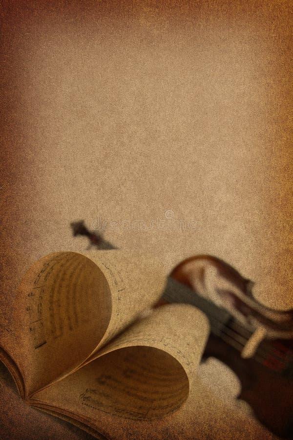 Ανασκόπηση αγάπης μουσικής στοκ φωτογραφίες