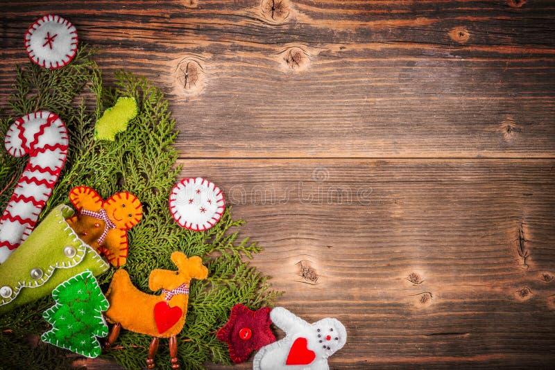 Ανασκόπηση διακοσμήσεων Χριστουγέννων στοκ εικόνες