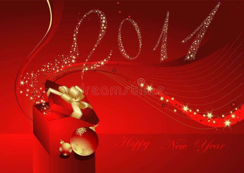 Download ανασκόπηση καλή χρονιά διανυσματική απεικόνιση. εικονογραφία από αποχής - 17052245