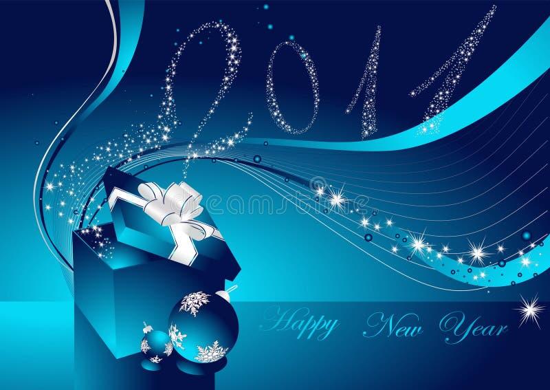 Download ανασκόπηση καλή χρονιά διανυσματική απεικόνιση. εικονογραφία από κλίση - 17053228
