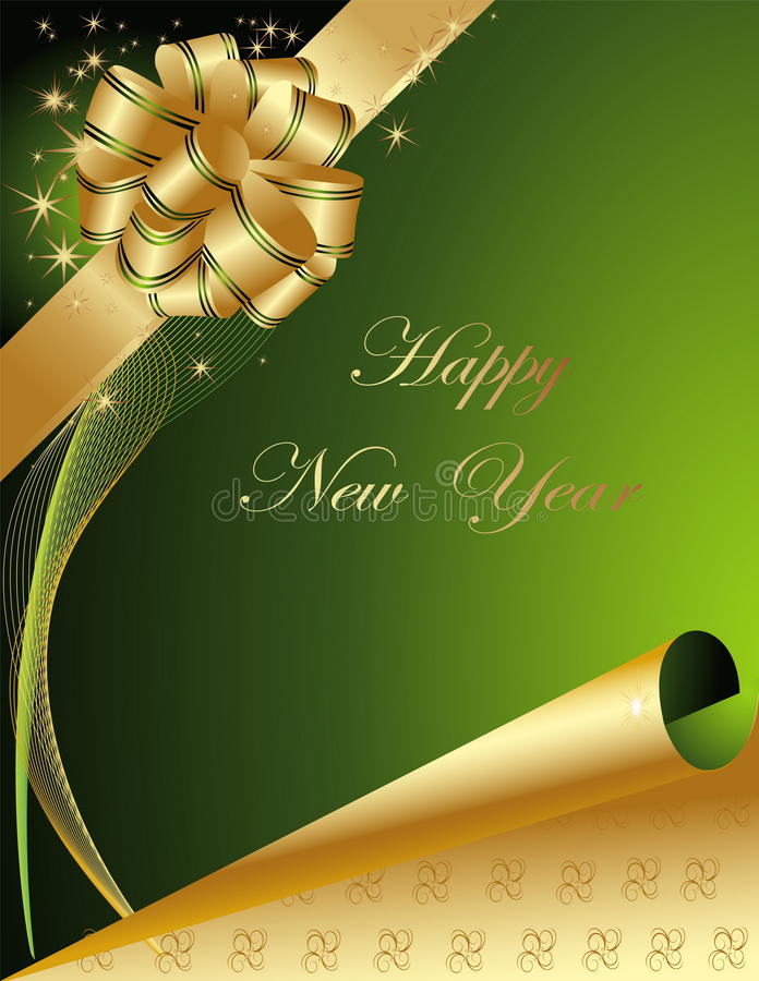 Download ανασκόπηση καλή χρονιά διανυσματική απεικόνιση. εικονογραφία από κερί - 17053323