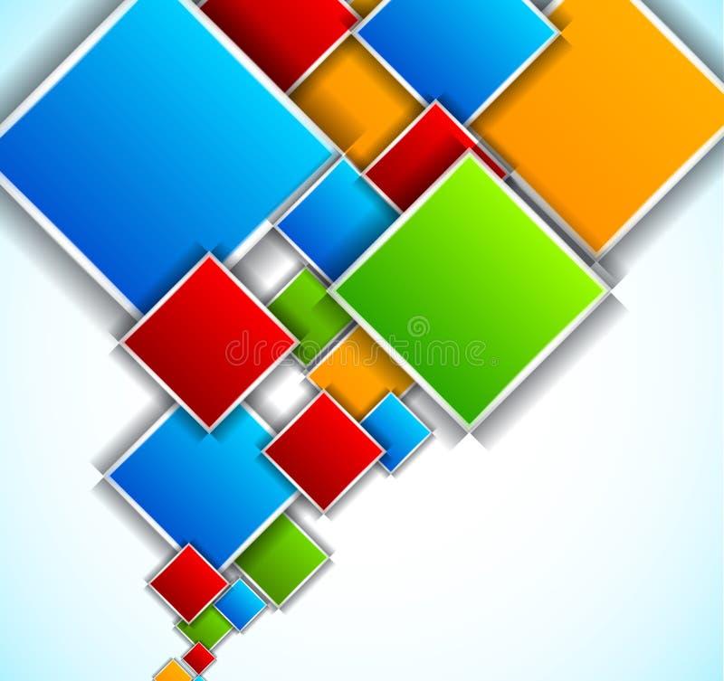 Ανασκόπηση με τα τετράγωνα απεικόνιση αποθεμάτων