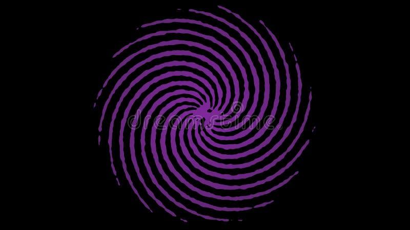 Ανασκόπηση με τις γραμμές χρώματος διανυσματική απεικόνιση