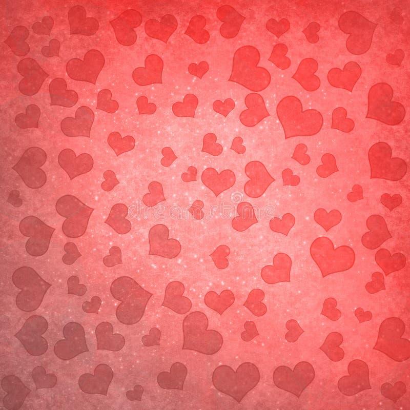 Ανασκόπηση με τις καρδιές απεικόνιση αποθεμάτων
