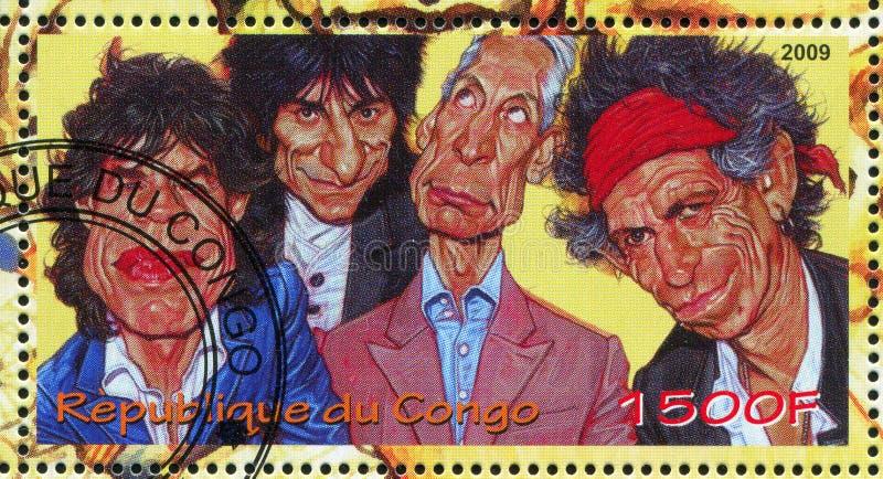 ανασκόπηση οι γεωλογικοί ορυκτοί Rolling Stones στοκ φωτογραφία
