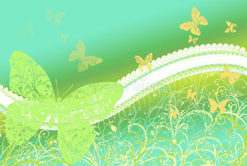 Ανασκόπηση πεταλούδων ελεύθερη απεικόνιση δικαιώματος
