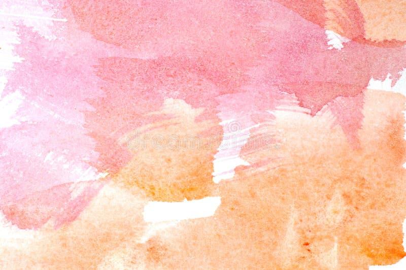 Ανασκόπηση πλυσίματος Watercolor στοκ φωτογραφίες με δικαίωμα ελεύθερης χρήσης