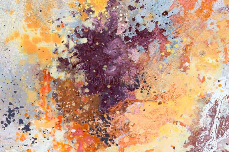 ανασκόπηση που χρωματίζεται αφηρημένη αφηρημένη ανασκόπηση τέχνης Σύσταση χρώματος στοκ φωτογραφία
