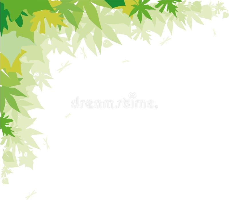 ανασκόπηση πράσινη διανυσματική απεικόνιση