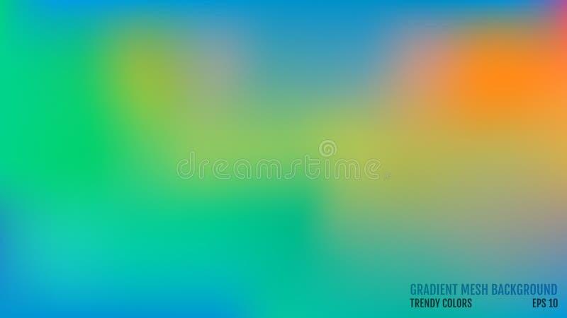 ανασκόπηση σύγχρονη Έννοια μετάβασης χρωμάτων Πλέγμα κλίσης αφηρημένη κάλυψη Καθιερώνουσα τη μόδα χρωματισμένη επιφάνεια κομψό πρ διανυσματική απεικόνιση