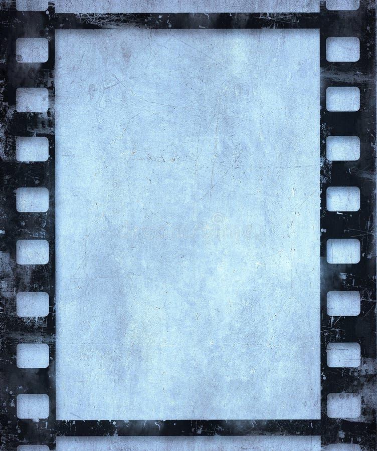 Ανασκόπηση ταινιών Grunge απεικόνιση αποθεμάτων