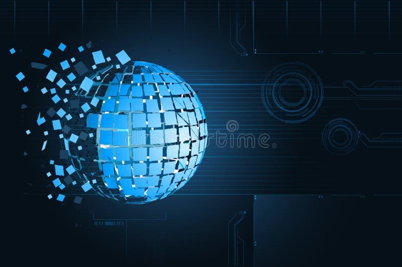 ανασκόπηση τεχνολογική ελεύθερη απεικόνιση δικαιώματος