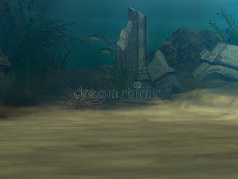 ανασκόπηση υποβρύχια απεικόνιση αποθεμάτων
