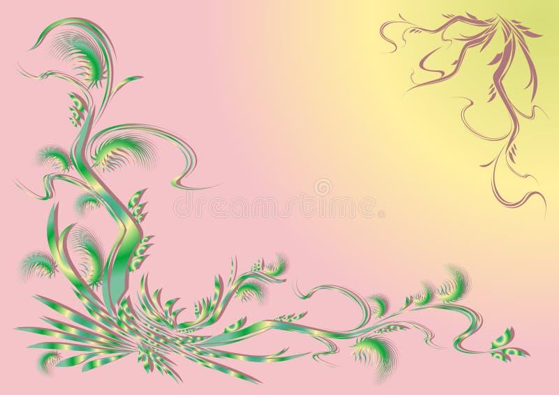 Download ανασκόπηση φυτική διανυσματική απεικόνιση. εικονογραφία από χρωματισμένος - 17059324