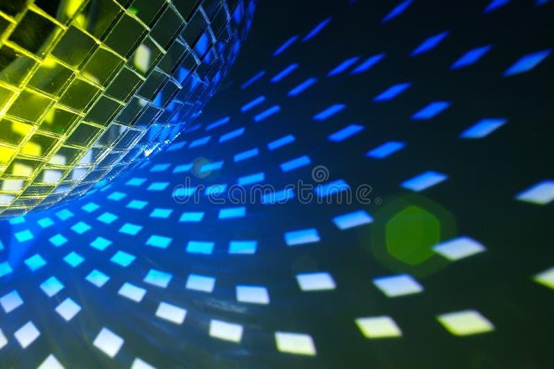 Ανασκόπηση φω'των Disco στοκ φωτογραφίες