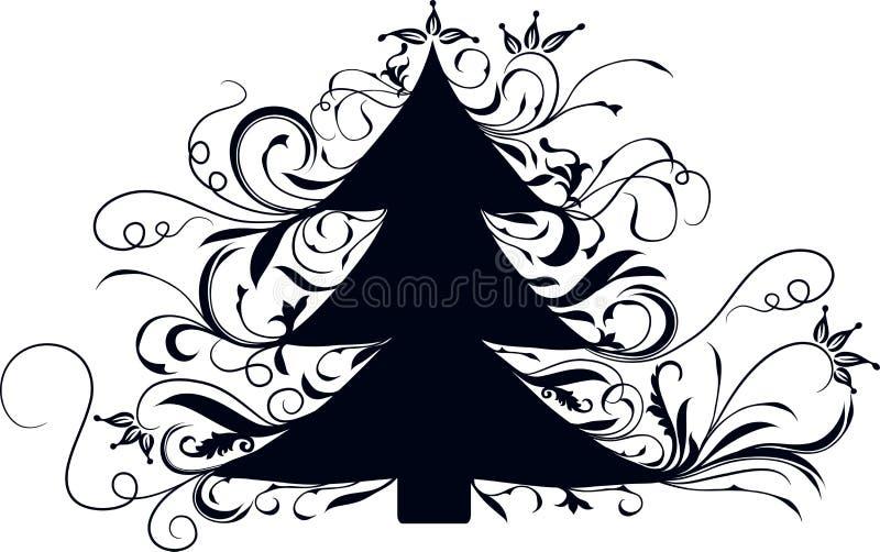 Ανασκόπηση Χριστουγέννων, διάνυσμα ελεύθερη απεικόνιση δικαιώματος