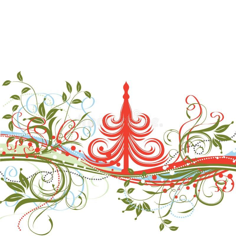 Ανασκόπηση Χριστουγέννων, διάνυσμα διανυσματική απεικόνιση