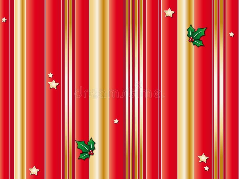 Ανασκόπηση Χριστουγέννων διανυσματική απεικόνιση