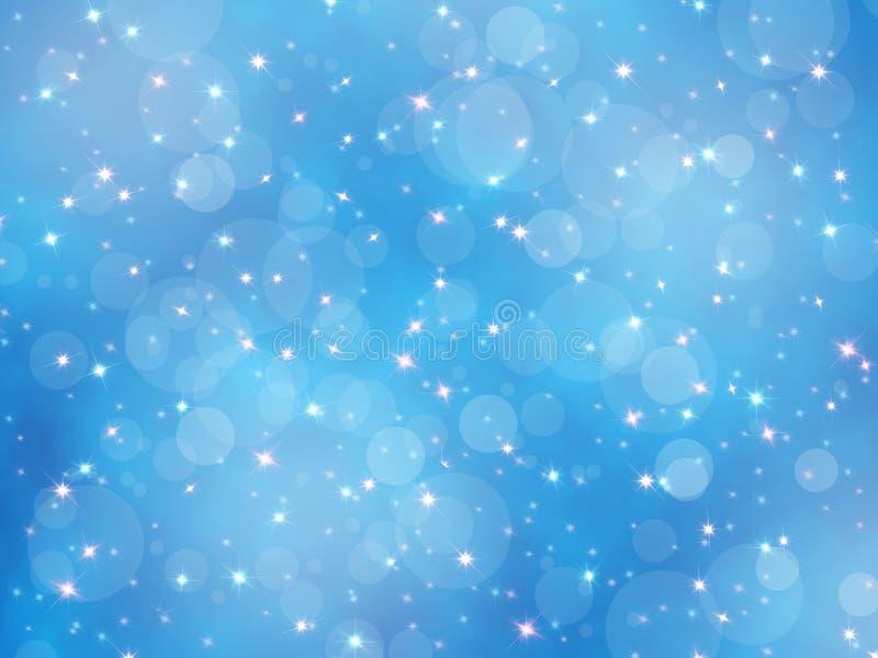 Ανασκόπηση Χριστουγέννων bokeh απεικόνιση αποθεμάτων