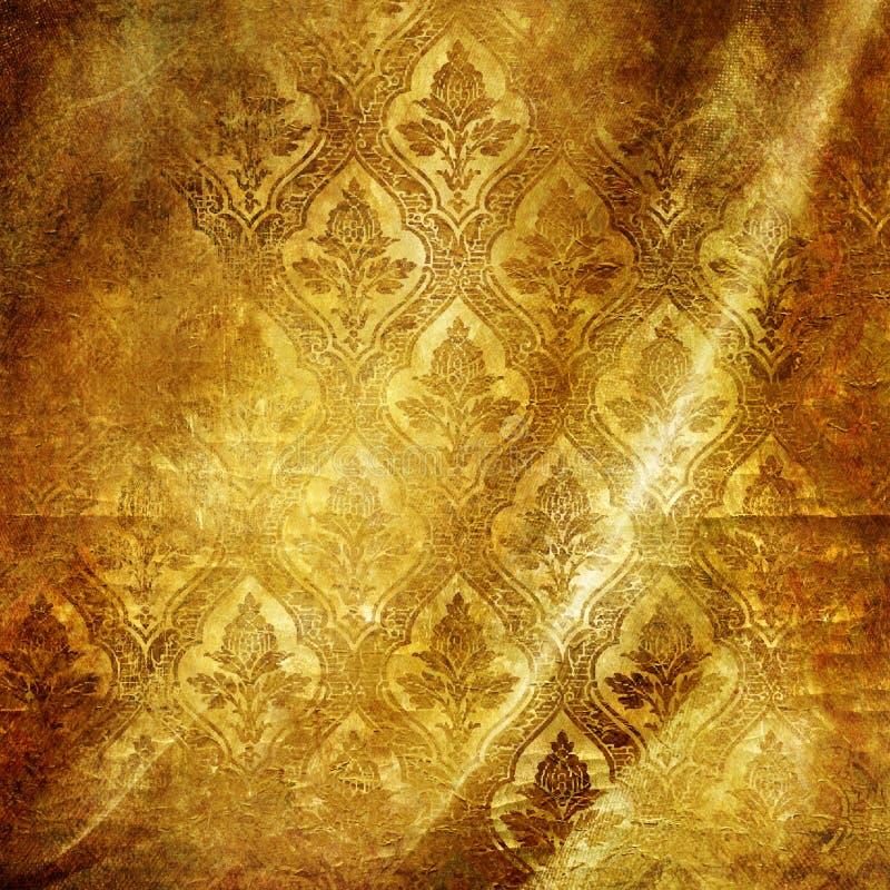 ανασκόπηση χρυσή διανυσματική απεικόνιση