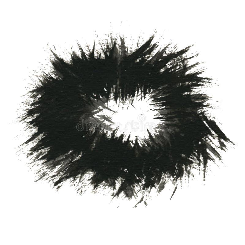 Ανασκόπηση χρωμάτων Grunge φυσικό διανυσματικό ύδωρ απεικόνισης σχεδίου φρέσκο σας ελεύθερη απεικόνιση δικαιώματος
