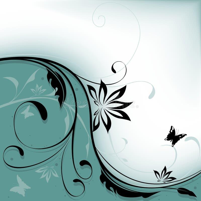 ανασκόπηση 10 floral διανυσματική απεικόνιση