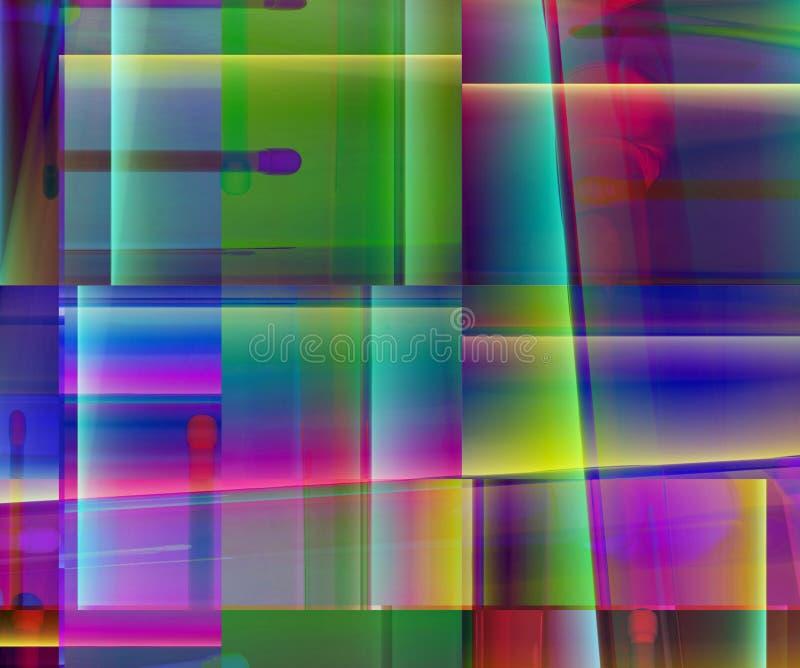 Ανασκόπηση 307 χρώματος διανυσματική απεικόνιση