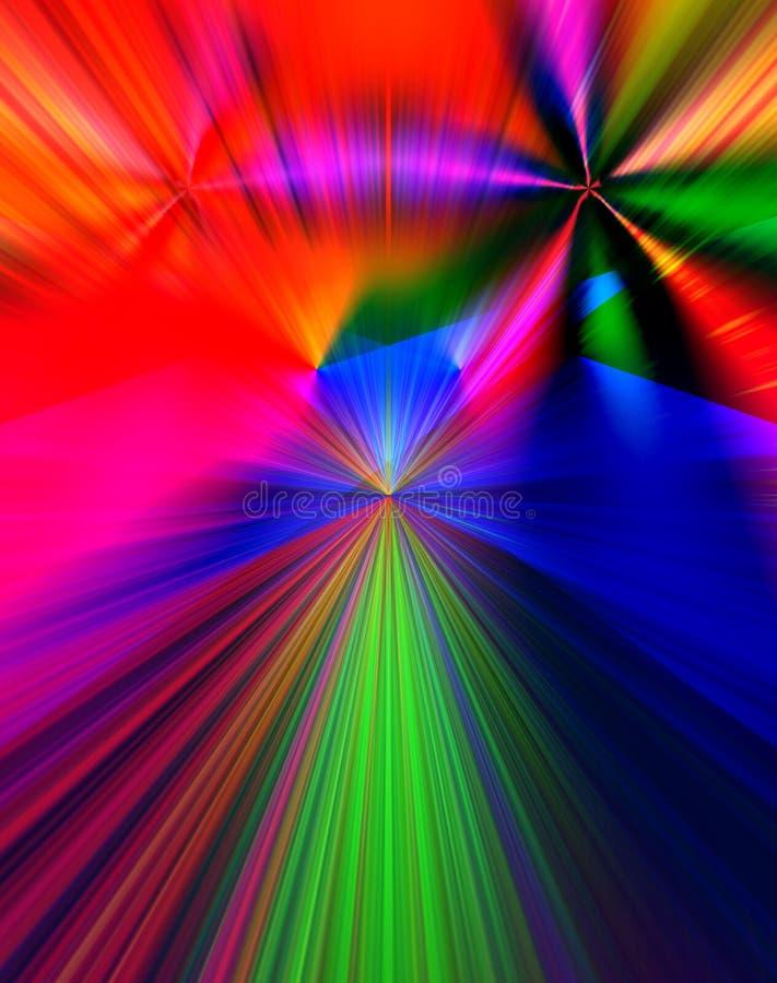 Ανασκόπηση 810 χρώματος απεικόνιση αποθεμάτων