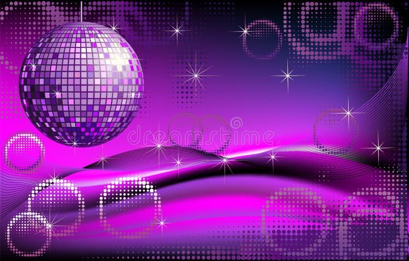 Ανασκόπηση disco-σφαιρών διανυσματική απεικόνιση