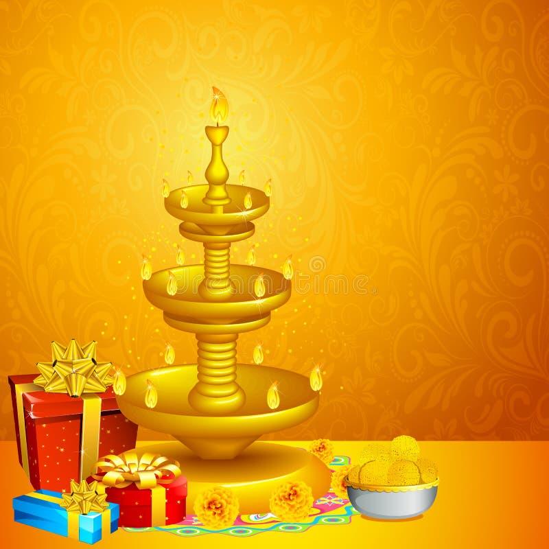 Ανασκόπηση Diwali απεικόνιση αποθεμάτων
