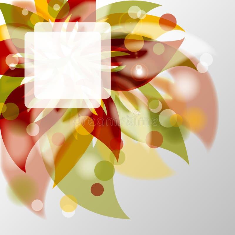 ανασκόπηση eps10 floral απεικόνιση αποθεμάτων