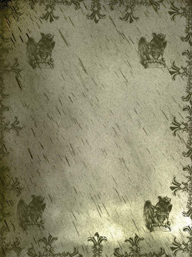 ανασκόπηση griffin μεσαιωνική διανυσματική απεικόνιση