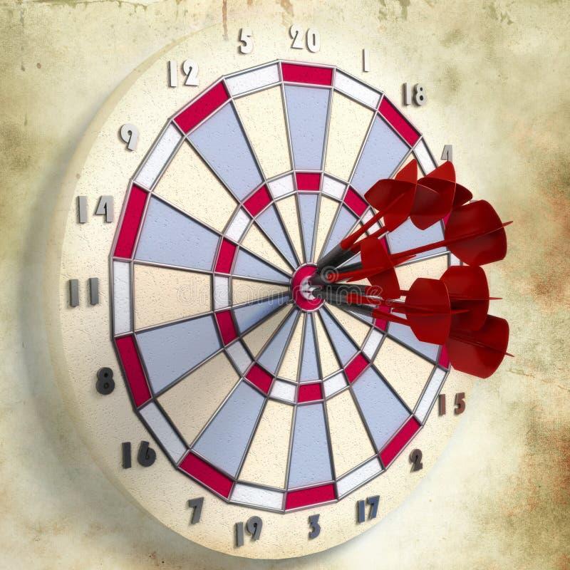 Download ανασκόπηση Grunge πέρα από το στόχ&omi Απεικόνιση αποθεμάτων - εικονογραφία από bullseye, δαχτυλίδι: 22783692