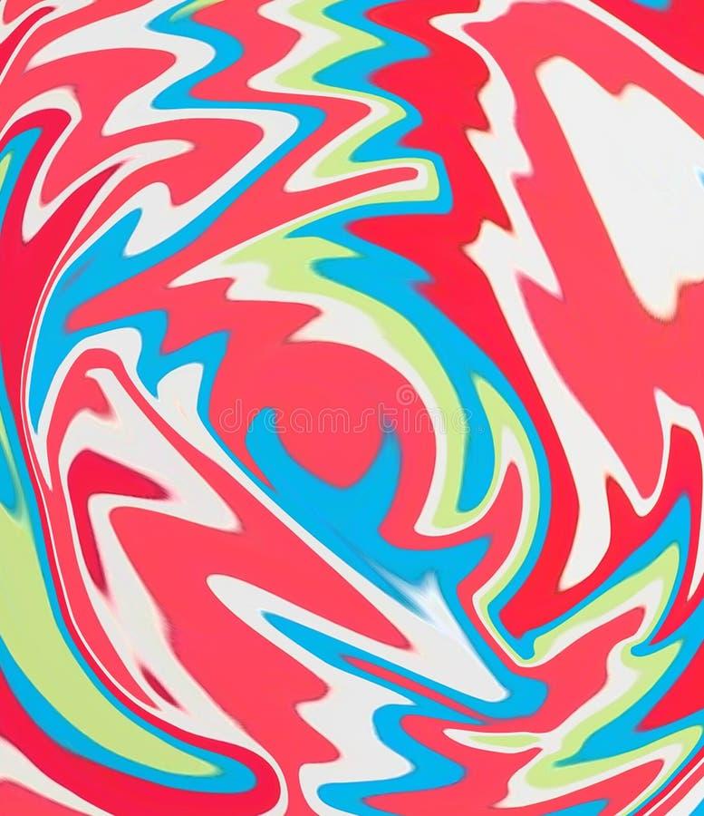 ανασκόπηση psychedelic απεικόνιση αποθεμάτων
