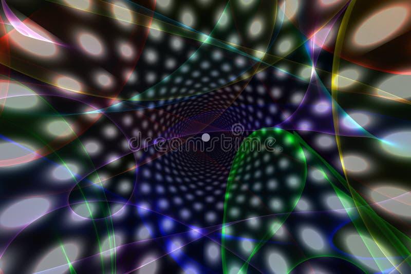 ανασκόπηση psychedelic διανυσματική απεικόνιση