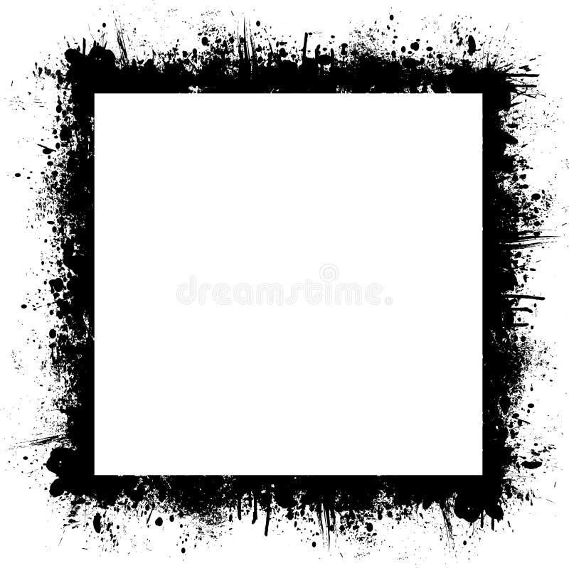 ανασκόπηση splat διανυσματική απεικόνιση