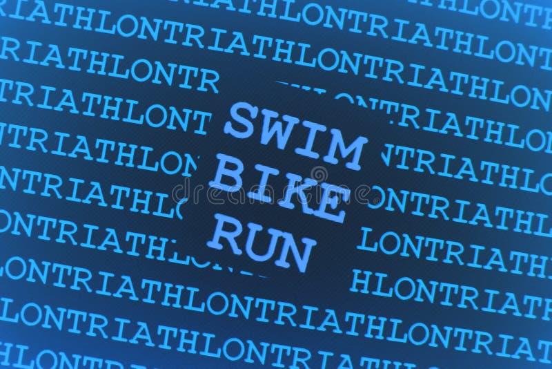 ανασκόπηση triathlon ελεύθερη απεικόνιση δικαιώματος