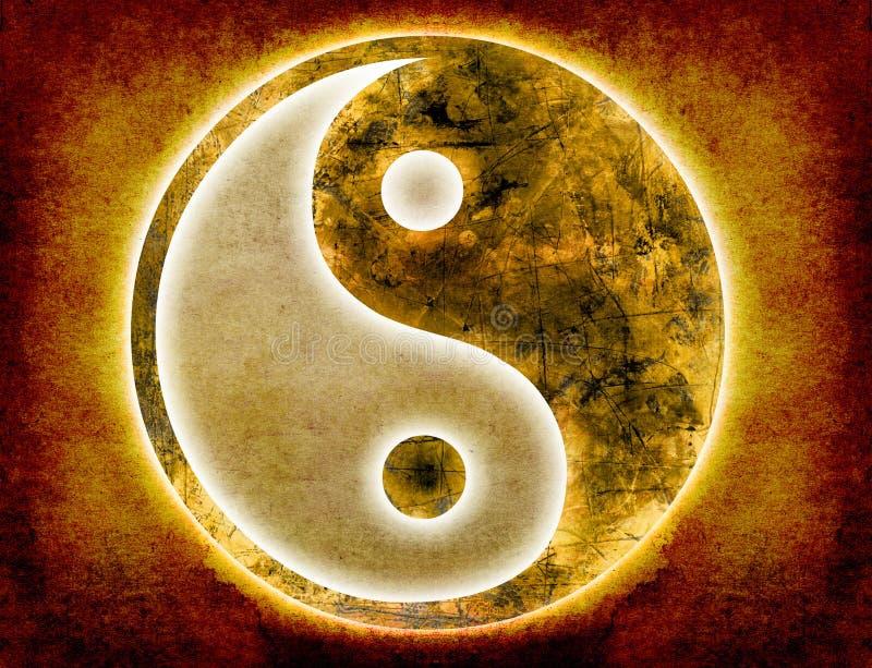 ανασκόπηση yang yin ελεύθερη απεικόνιση δικαιώματος