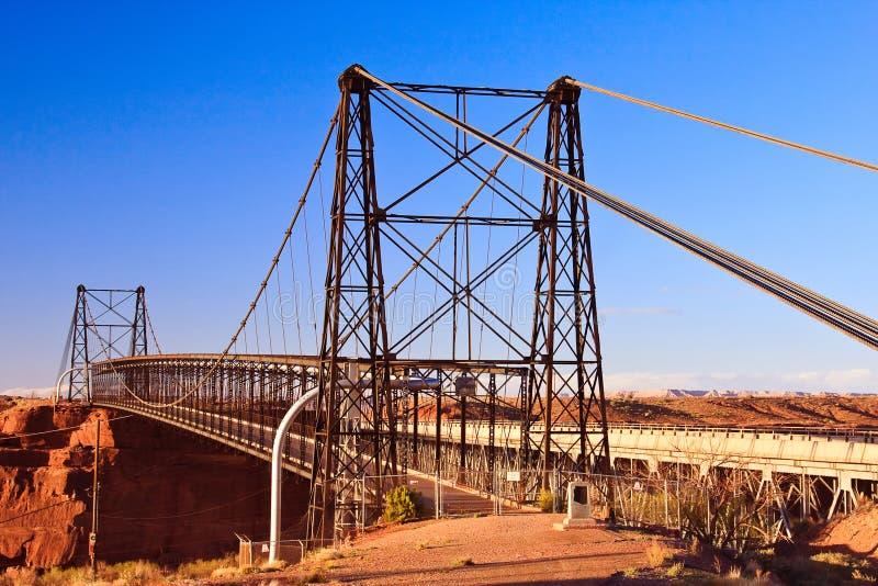 αναστολή του Cameron γεφυρών στοκ εικόνες
