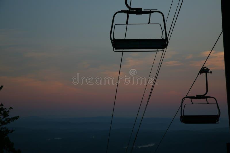 ανατολή βουνών στοκ εικόνα