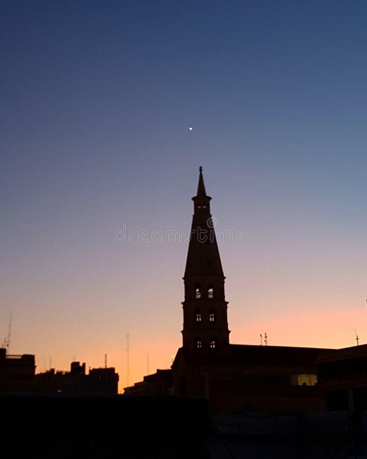 Ανατολή σε Ciudad Vieja στοκ φωτογραφία με δικαίωμα ελεύθερης χρήσης