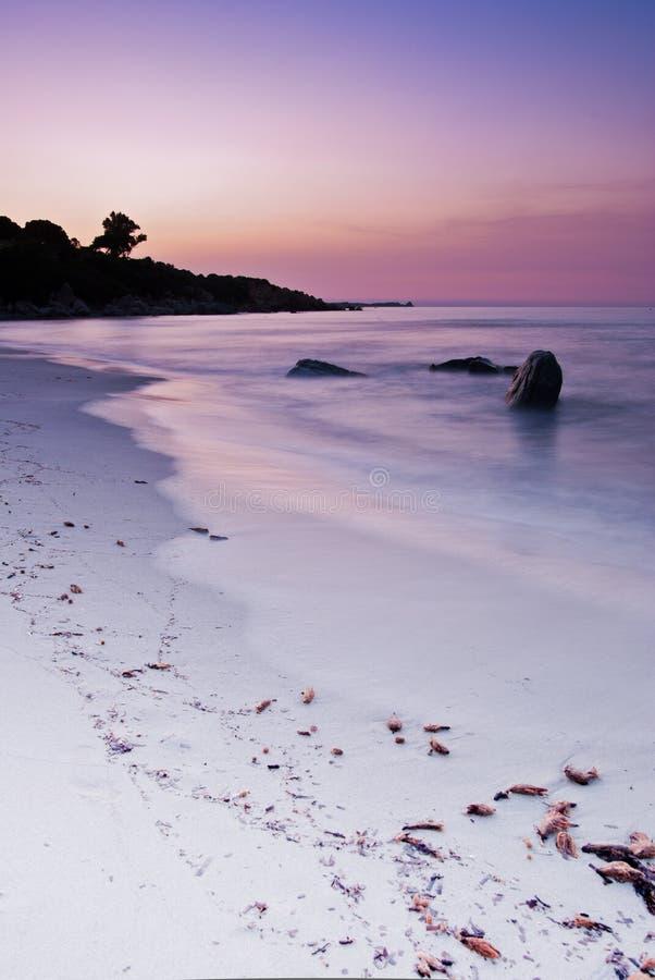 Ανατολή στη Σαρδηνία στοκ φωτογραφίες με δικαίωμα ελεύθερης χρήσης
