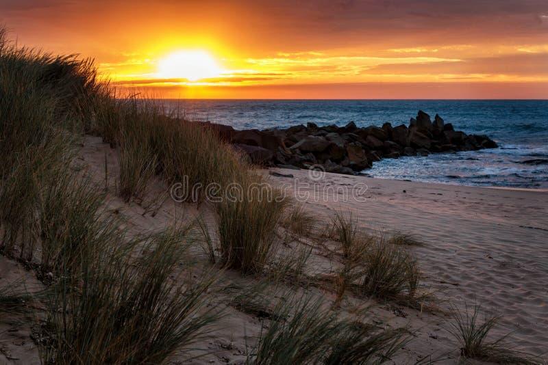 Ανατολή στον κόλπο Opollo, μεγάλο εθνικό πάρκο Otway, Βικτώρια, Αυστραλία στοκ φωτογραφίες με δικαίωμα ελεύθερης χρήσης