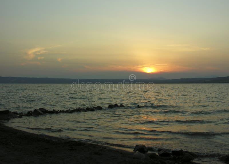 ανατολή firey στοκ φωτογραφία με δικαίωμα ελεύθερης χρήσης