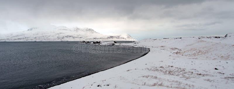 Ανατολικά φιορδ της Ισλανδίας στοκ φωτογραφία με δικαίωμα ελεύθερης χρήσης
