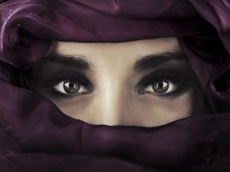 ανατολική γυναίκα στοκ φωτογραφίες
