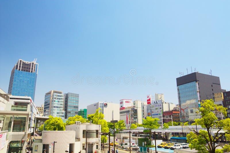 Ανατολική πλευρά σταθμών Kawasaki στοκ εικόνα με δικαίωμα ελεύθερης χρήσης