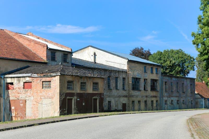 Ανατολικογερμανικό εμπορικό κτήριο στοκ εικόνα