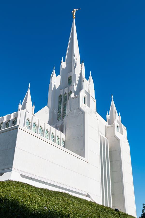 Ανατολικός κώνος του των Μορμόνων ναού του Σαν Ντιέγκο LDS στοκ εικόνα με δικαίωμα ελεύθερης χρήσης